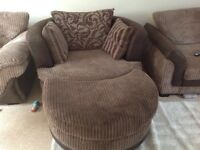 DFS Cuddle/Swivel chair