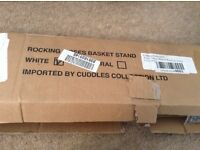 Brand new unused - Rocking Moses basket stand