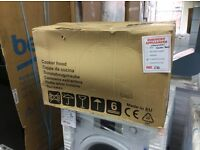 Cooker hood different size new in box 12 mths gtee