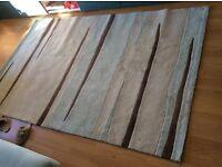 Living room rug 150cm x 200cm £25