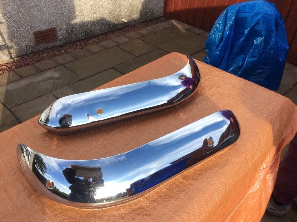 Ford Cortina Mk1 Lotus Chrome Quarter Bumpers In Troon South Ayrshire Gumtree