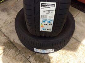 Bridgestone 245/50/18 Runflats