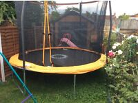 Trampoline sport power