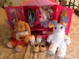 Build a bear bundle fantastic condition hardly ever used