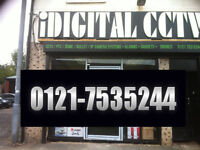 CCTV CAMERA X 4 SYSTEM SUPPLIED AND FITTED WITH MEMORY AND PHONE APP