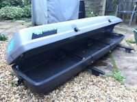 Car Roof Box for sale (Thule Hifly Roof Bag 300); 280 litres; 220x48x30 cm
