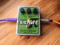 EHX Bass Big Muff pi Bass Distortion Pedal
