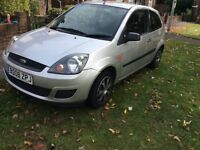 Fiesta 1.4 diesel cheap tax, 2008 model. F/s/h long mot