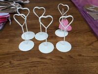 Table Number Holders X 6
