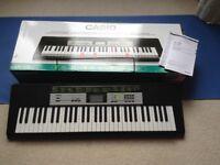 Keyboard Casio LK135 As new