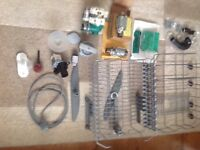 MANY SPARE PARTS FOR AEG dishwasher FAVORIT 85480 V1 with instruction book
