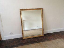 Large Ornate Gilt Frame Mirror