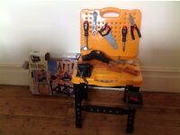 Children's tool and work bench