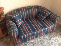 Double Sofa bed including 2 cushions