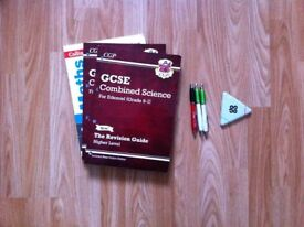 CGP BOOKS WITH FREE LONSDALE BAG AND PEN SET W/ TRIPLE MARKER!