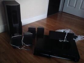 DVD home system with speakers