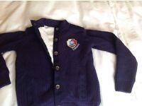 Child's Thomas fleecy smart cardigan/ jacket NEVER WORN