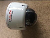 LILIN day and night 3MP HD vandal resistant infrared dome IP camera