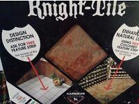 Karndean Floor tiles- Full unopened Box of 36 x12x12in ie 4sq yards plus 25lin m feature strips.