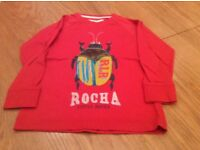 Rocha Little Rocha Long Sleeve Top. Age 4-5 Years.