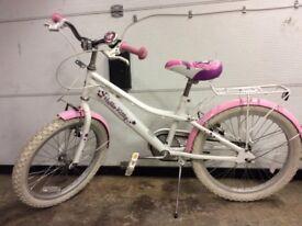 """Girls 'Hello Kitty' 20"""" Bike"""