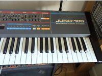 Roland Juno 106 Vintage Synth, £600