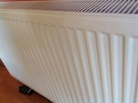 2 central heating radiators