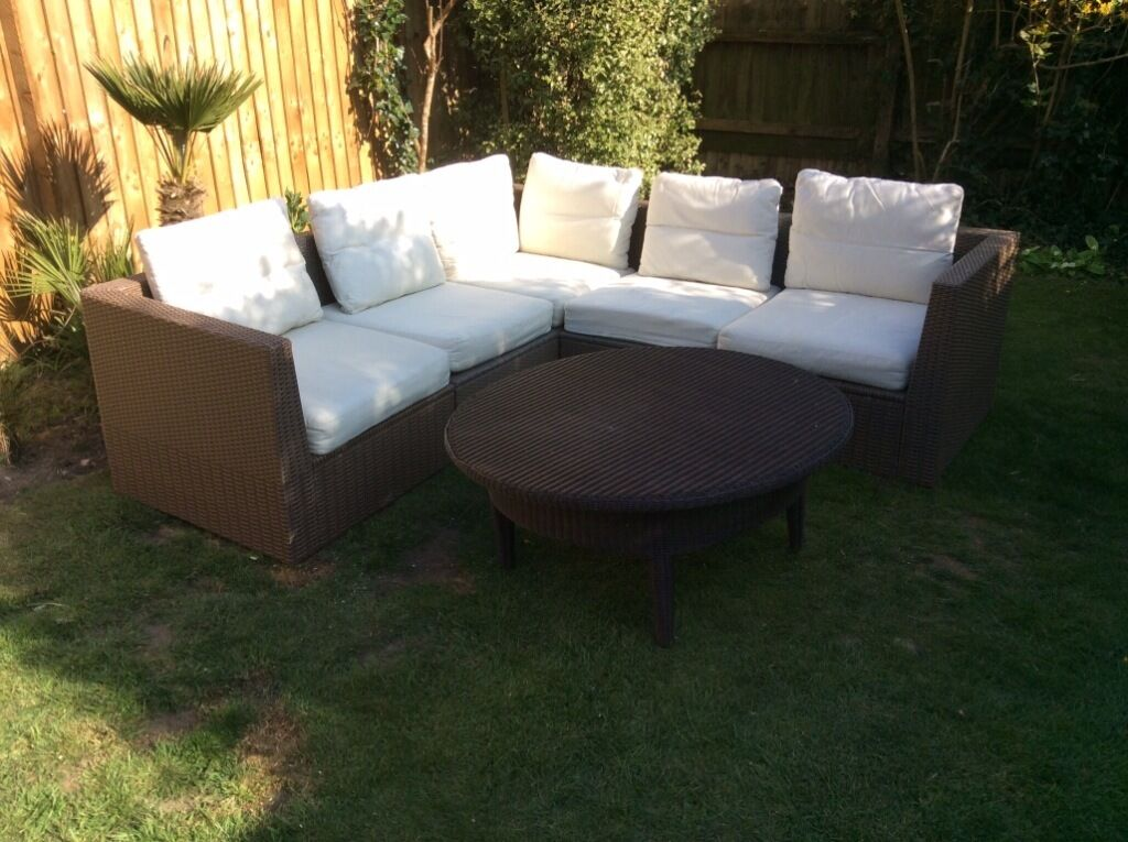 Garden Furniture Gumtree ikea rattan arholma corner garden sofa perfect condition | in