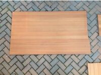 Teak planked plywood