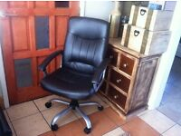 Leather Executive Office Swivel Chair