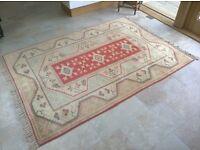 Hand-made Turkish rug 2.22m x 1.62m