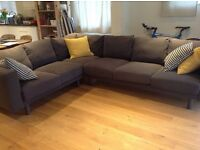 Nearly new IKEA Corner Sofa Norsborg 2+3/3+2