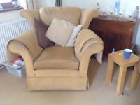 2seeter 3seeter settee armchair and footstall