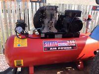 Sealey 150 litre compressor