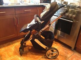 John Lewis pram with carrycot