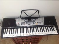 Electronic keyboard and stool