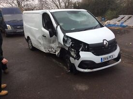 Renault traffic unrecorded spares or repairs 2016 full v5 hall documents