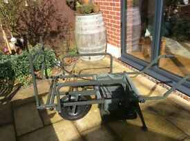 Chubb fishing wheelbarrow used only a handful of times therefore in excellent condition