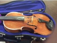 1930s full size JTL workshop violin