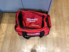 Milwaukee tool bag with wheels or over night bag