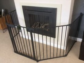 Fire surround/child or pet safety gate