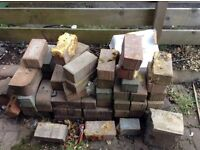 Pavier bricks to take away. 20 or so