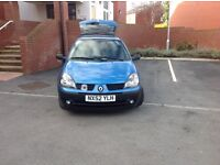 Renault Clio, only 28089 real miles