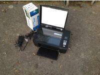Kodak colour lazer scanner/printer + new boxed cartridge