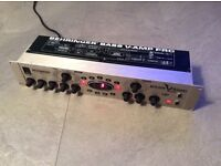 """Behringer Bass V-Amp Pro.19"""" Digital /Analogue Pre Amp/DI/Effects. + Manual & Power Lead."""