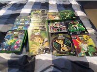 Bundle of Ben 10 dvds