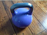 Purple competition grade 8kg kettlebell