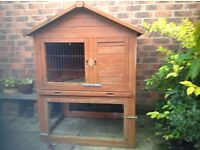 Double Deck Rabbit Hutch for sale