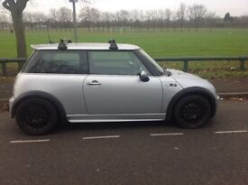 Mini one with cooper s kit on it