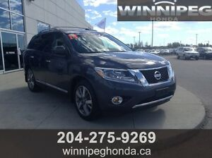 2014 Nissan Pathfinder Platium. Local trade in, One owner, Full